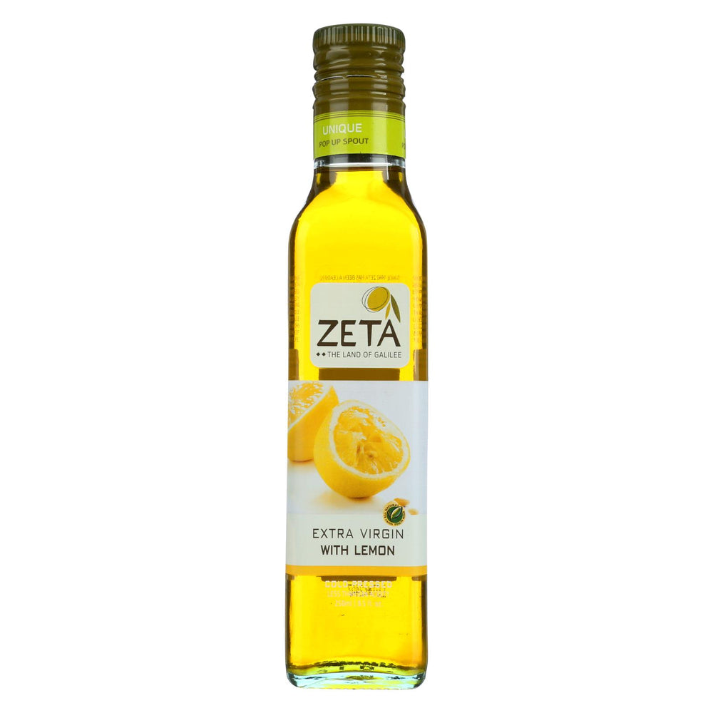 Zeta Oil Oil - Lemon - Case Of 6 - 8.45 Fl Oz