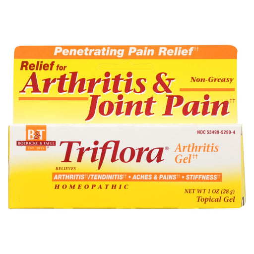 Boericke And Tafel Triflora Arthritis Gel - 1 Oz