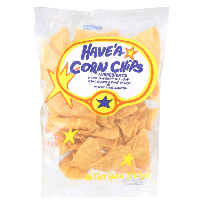 Have'a Corn Chip - Corn Chips - Case Of 24 - 4 Oz.