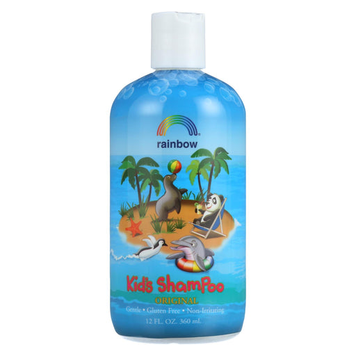 Rainbow Research Organic Herbal Shampoo For Kids Original Scent - 12 Fl Oz