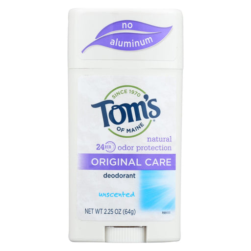 Tom's Of Maine Natural Original Deodorant Unscented - 2.25 Oz - Case Of 6