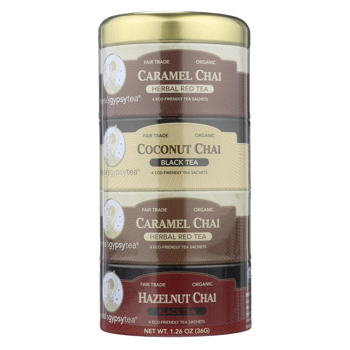 Zhena's Gypsy Tea Chai Tea Stackable - Case Of 6 - 16 Bags