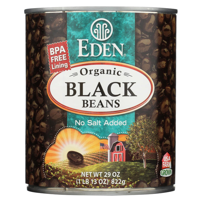 Eden Foods Black Beans Turtle - Case Of 12 - 29 Oz.