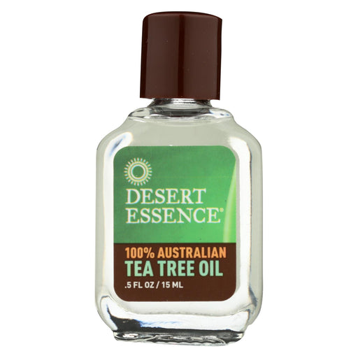 Desert Essence Australian Tea Tree Oil - 0.5 Fl Oz