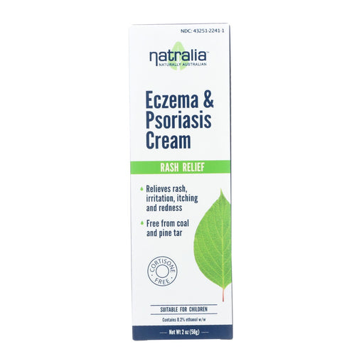Natralia Eczema And Psoriasis Cream - 2 Oz
