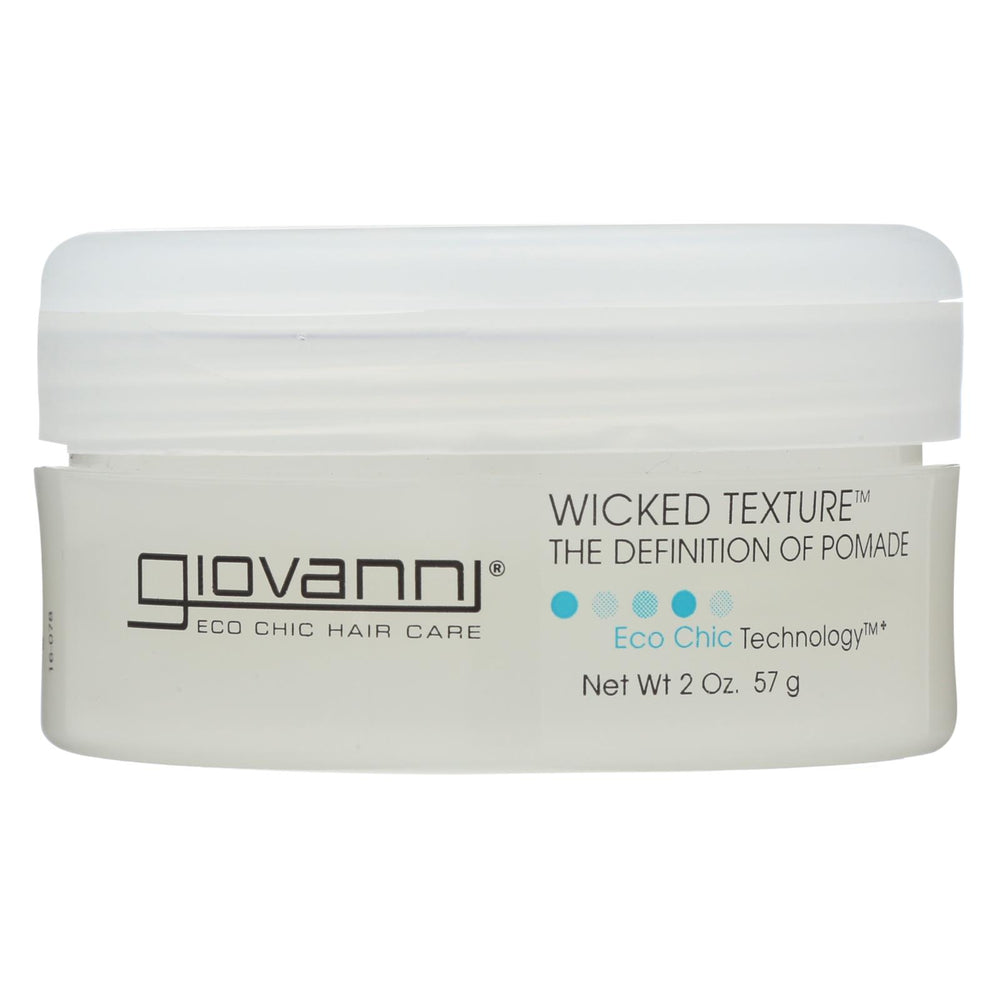 Giovanni All-natural Wicked Hair Wax The Definition Of Pomade - 2 Oz