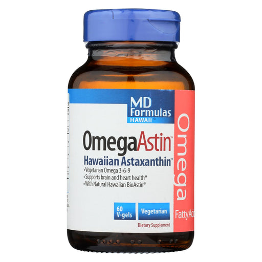 Nutrex Hawaii Omegaastin With Pure Natural Astaxanthin - 60 Vegetarian Softgels