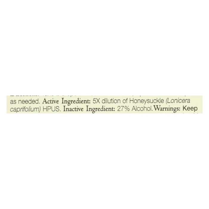 Bach Flower Remedies Essence Honeysuckle - 0.7 Fl Oz