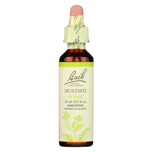 Bach Flower Remedies Essence Mustard - 0.7 Fl Oz