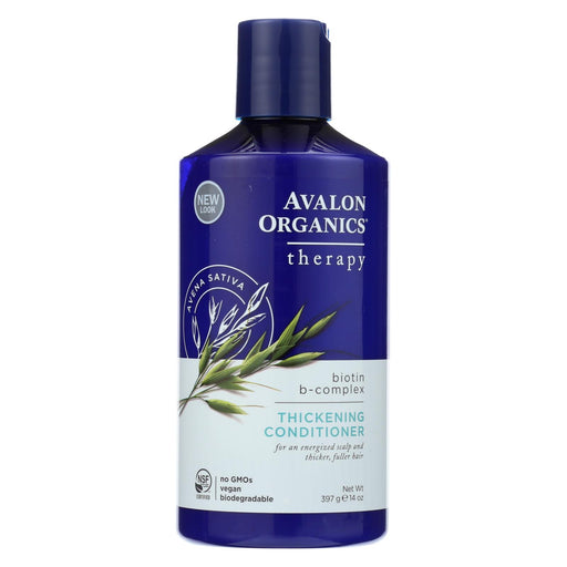 Avalon Organics Thickening Conditioner Biotin B-complex Therapy - 14 Fl Oz