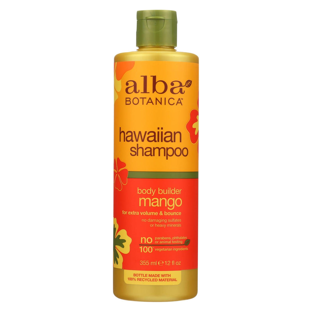 Alba Botanica Hawaiian Hair Wash Moisturizing Mango - 12 Fl Oz