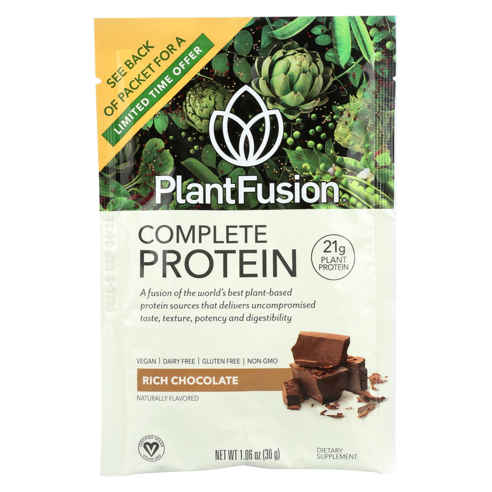 Plantfusion Chocolate Packets - Case Of 12 - 30 Grams