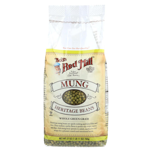 Bob's Red Mill Mung Beans - 27 Oz - Case Of 4