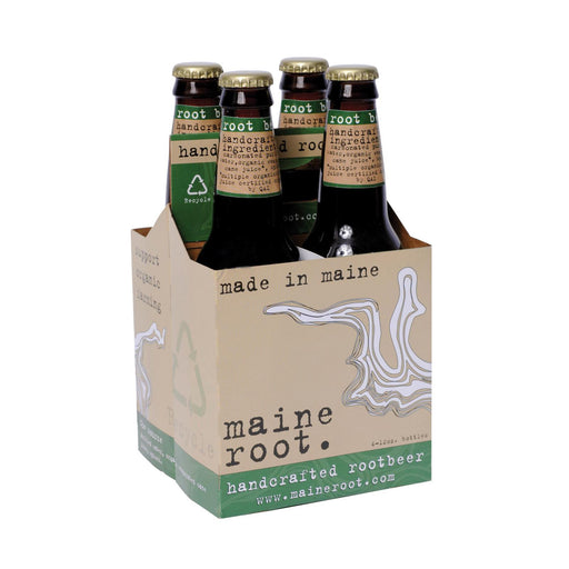 Maine Root Beer - Case Of 6 - 12 Fl Oz.