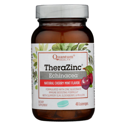 Quantum Thera Zinc Echinacea Lozenges Cherry Mint - 48 Lozenges