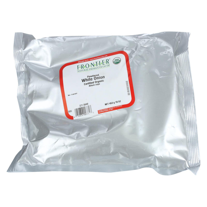 Frontier Herb Onion - Organic - Powder - Bulk - 1 Lb