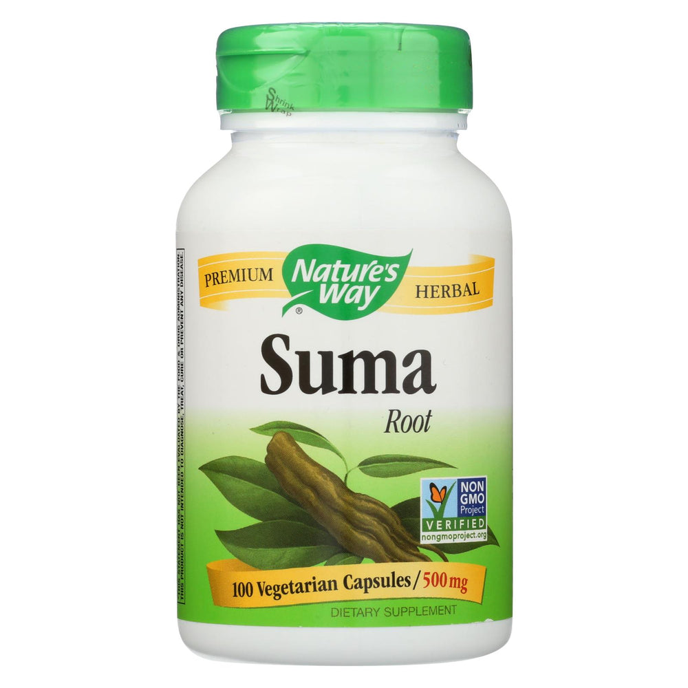 Nature's Way Suma Root - 100 Capsules