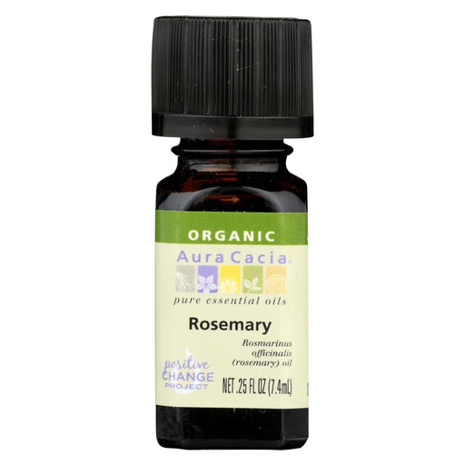 Aura Cacia Organic Essential Oil - Rosemary - .25 Oz