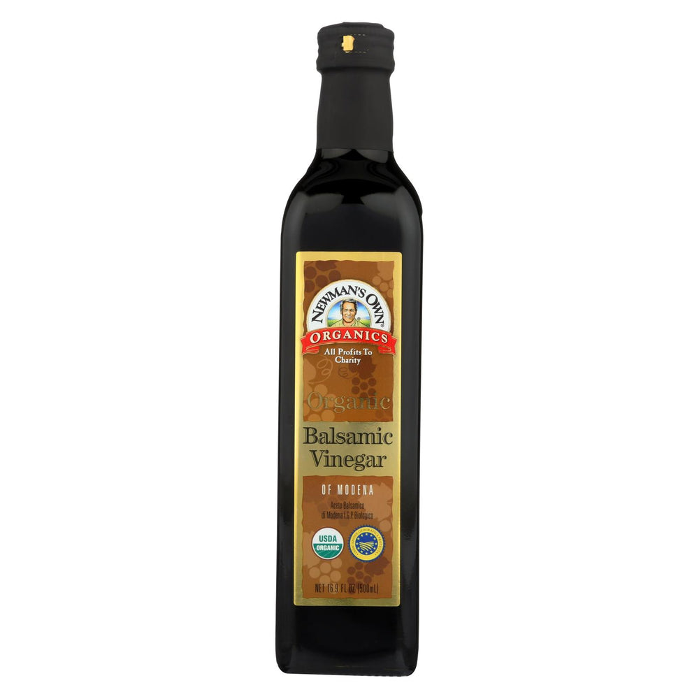Newman's Own Organics Organic Balsamic - Vinegar - Case Of 6 - 16.9 Fl Oz.