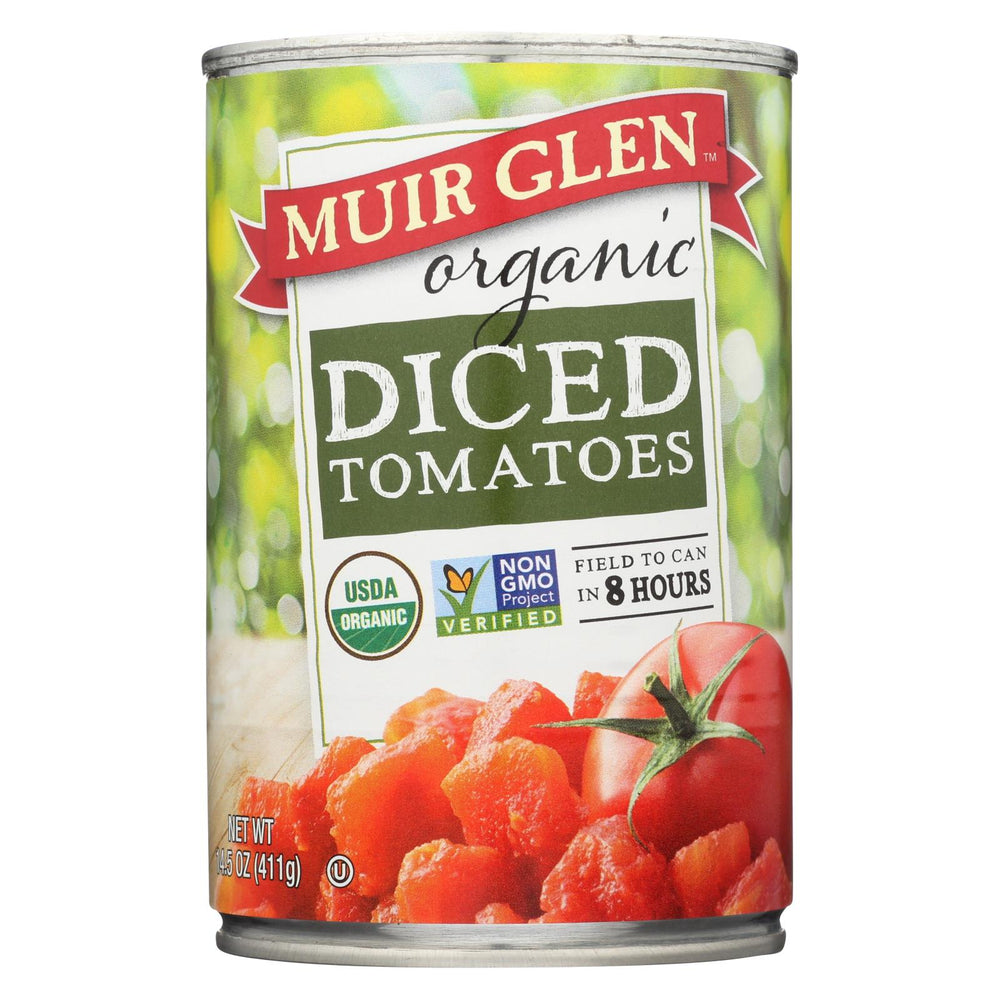 Muir Glen Organic Tomatoes, Diced - Tomatoes - Case Of 12 - 14.5 Oz.