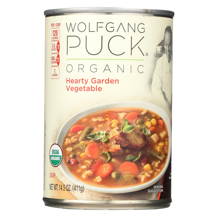 Wolfgang Puck Thick Hearty Vegetable Soup - Case Of 12 - 14.5 Oz.