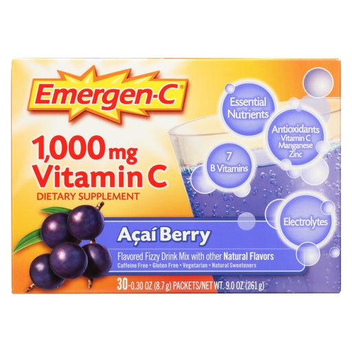Emergen - C Vitamin C Drink - Acai Berry