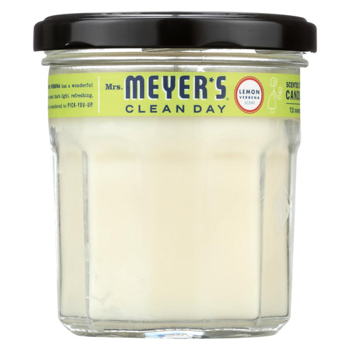 Mrs. Meyer's Clean Day - Soy Candle - Lemon Verbena - Case Of 6 - 7.2 Oz Candles