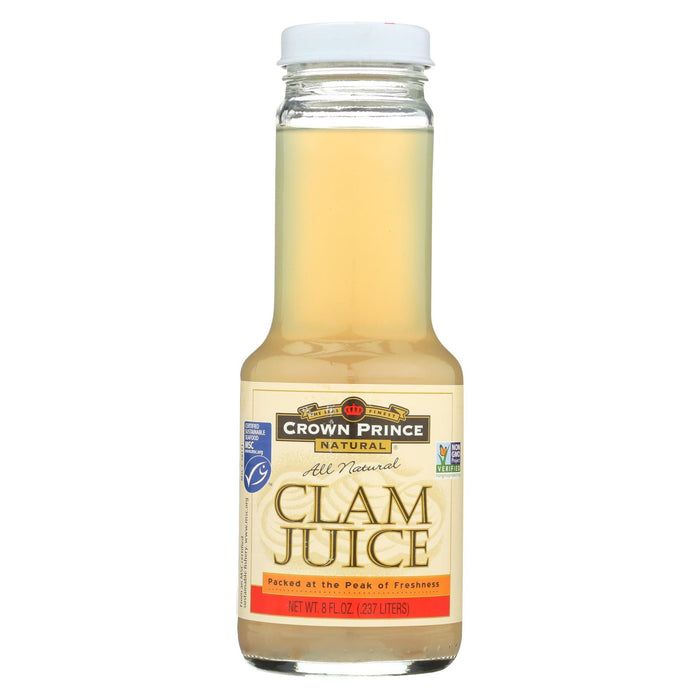 Crown Prince Clam Juice - Case Of 12 - 8 Fl Oz.
