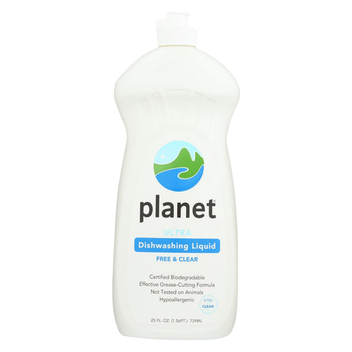 Planet Dishwashing Liquid - Ultra - Case Of 12 - 25 Fl Oz.