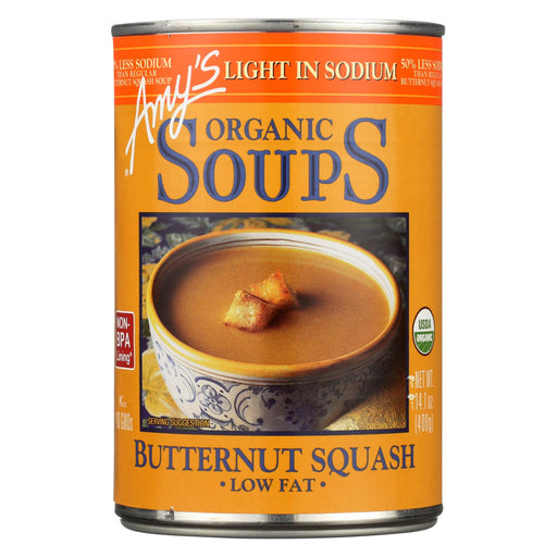 Amy's Organic Low Sodium Butternut Squash Soup - Case Of 12 - 14.1 Oz