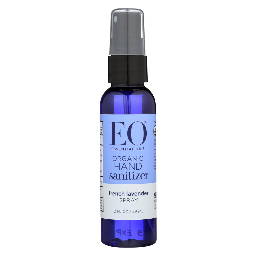 Eo Products Hand Sanitizer Spray - Lavender - 2 Fl Oz - Case Of 6