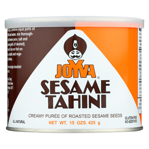 Joyva Roasted Sesame Tahini - 15 Oz - Case Of 12