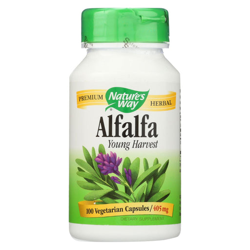 Nature's Way Alfalfa Leaves - 100 Capsules