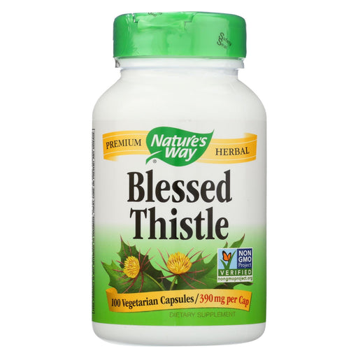 Nature's Way Blessed Thistle Herb - 100 Capsules