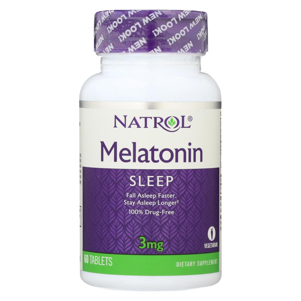 Natrol Melatonin - 3 Mg - 60 Tablets