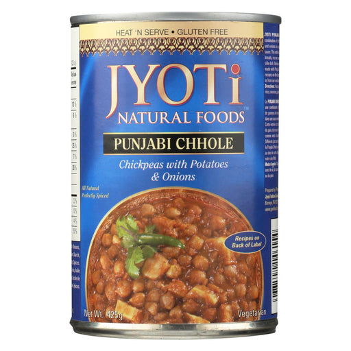 Jyoti Cuisine India Punjabi Chhole - Case Of 12 - 15 Oz.