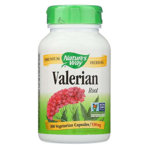 Nature's Way Valerian Root - 100 Capsules