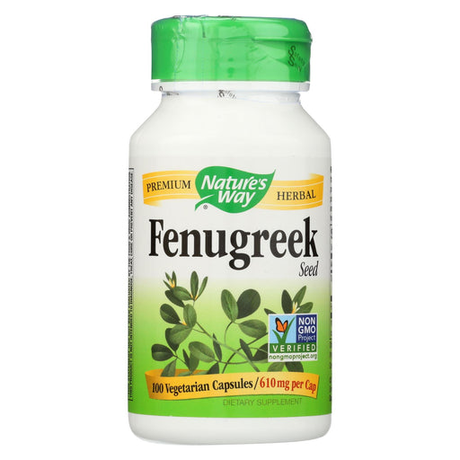 Nature's Way Fenugreek Seed - 100 Capsules