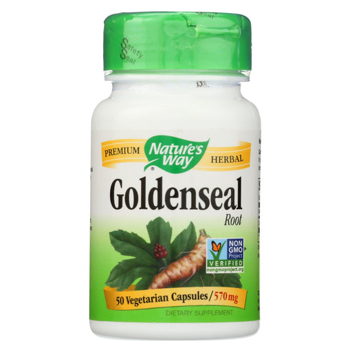 Nature's Way Goldenseal Root - 50 Capsules