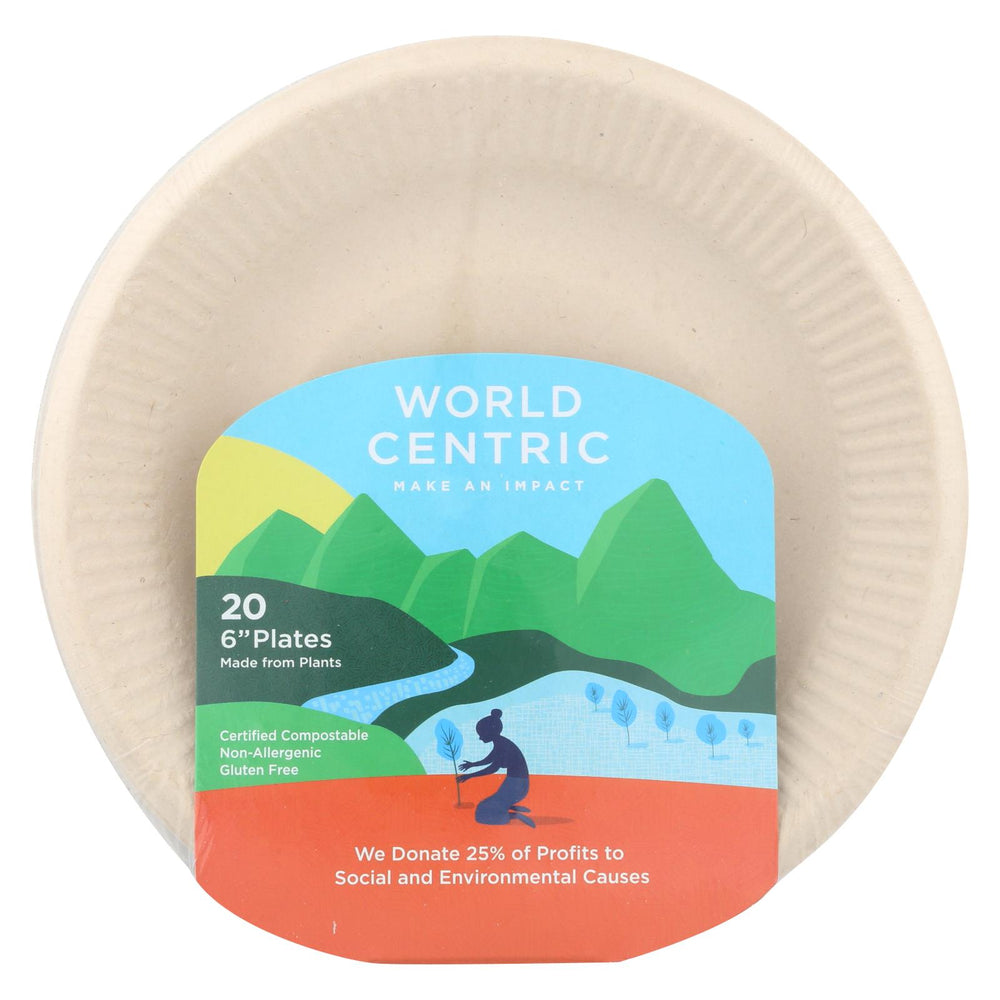 World Centric Ripple Edge Plate - Case Of 12 - 20 Count