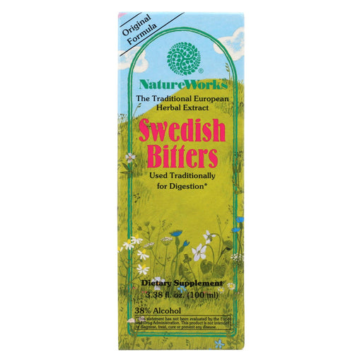 Nature Works Swedish Bitters - 3.38 Fl Oz