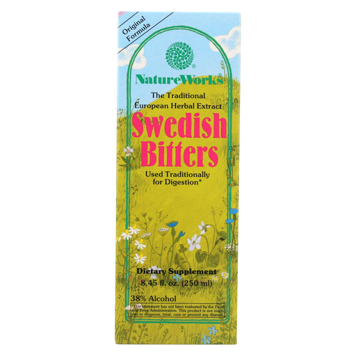 Nature Works Swedish Bitters - 8.45 Fl Oz
