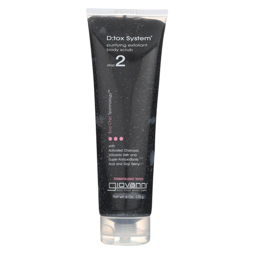 Giovanni D:tox System Body Scrub Step 2 - 6 Oz