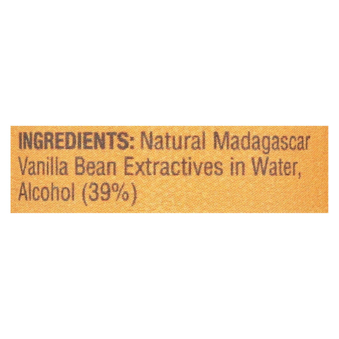 Madecasse Pure Vanilla Extract - Case Of 12 - 2 Fl Oz.