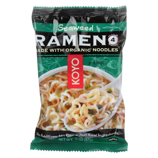 Koyo Ramen - Seaweed - Case Of 12 - 2 Oz.