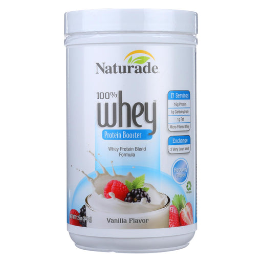 Naturade Whey Protein Booster Vanilla - 12 Oz