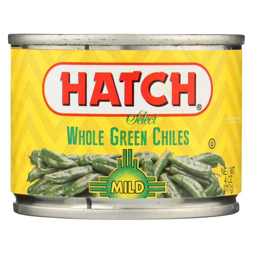 Hatch Chili Green Chiles - Mild Whole - Case Of 12 - 4 Oz.