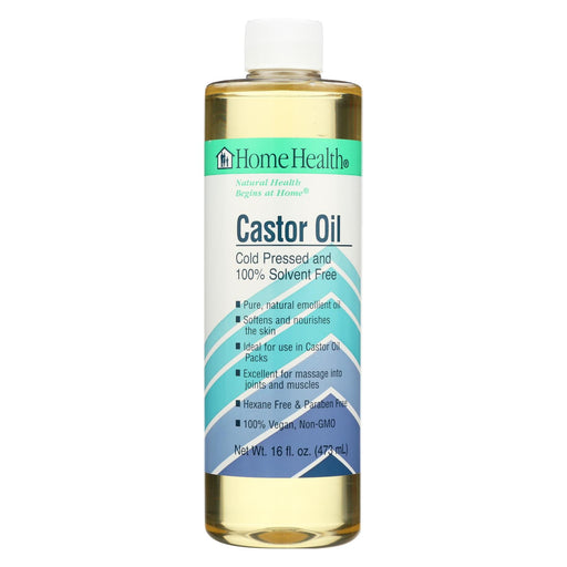 Home Health Castor Oil - 16 Fl Oz