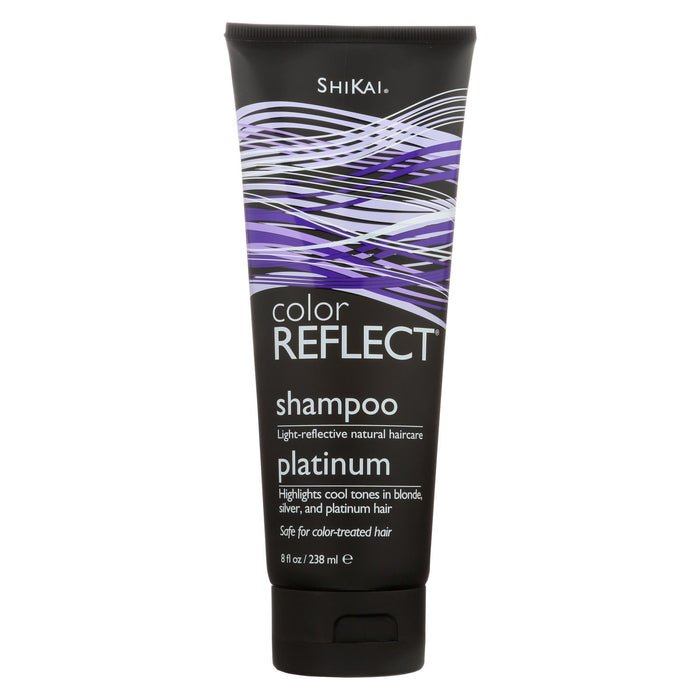Shikai Color Reflect Platinum Shampoo - 8 Fl Oz