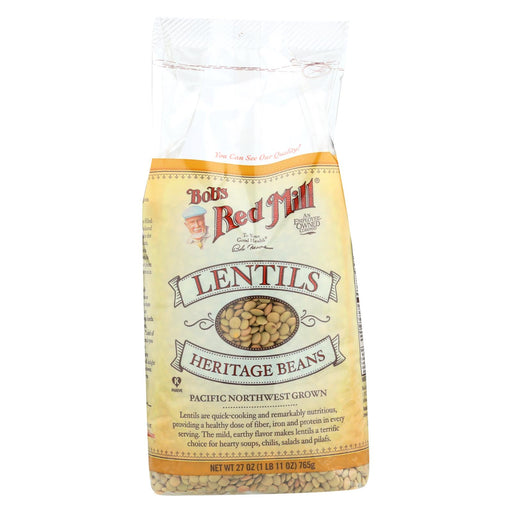 Bob's Red Mill Lentils Beans - 27 Oz - Case Of 4